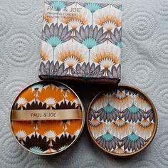 Paul and Joe powder - loveee their packaging!  #EssentialBeauty #BeautyBay.com  loving the throwback nod to art deco packaging here!