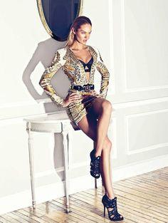 Harper's Bazaar España January 2012 : Candice Swanepoel by Koray Birand
