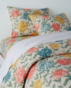 d'Orsay Floral Signature Flannel Bedding