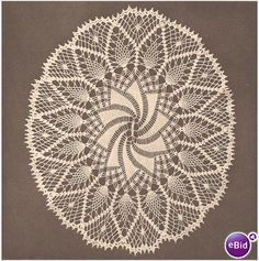 easy doily crochet patterns free | Crochet Doily Pattern Oval Crochet Doily (1) on eBid North America