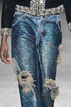 Sequins and beads, Yum! Ashish AW 2014/15