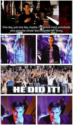 He did it! #DoctorWho