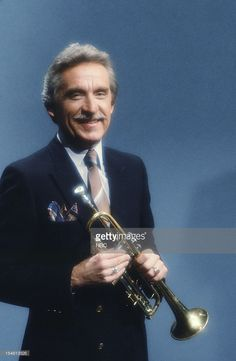 Bandleader Doc Severinsen -- Get premium, high resolution news photos at Getty Images Here's Johnny, Johnny Carson, Doc Severinsen, Jazz Trumpet, Trumpet Players, Stars Then And Now, Jazz Musicians, Classic Tv, My Guy