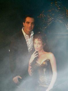 Ramin Karimloo and Sierra Bogess  The Phantom of the Opera and Love Never Dies