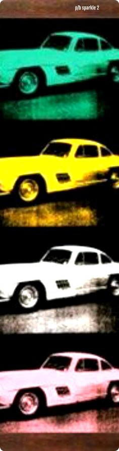 Andy Warhol (1928-1987) or Andy Warhol tribute art: Cars