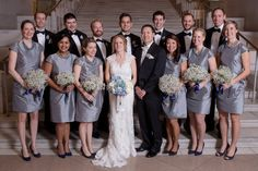 Throwback from December Jessica and Greg's wedding photos, celebrating at Corcoran Gallery of Art. Real wedding in DC December 2014, Bridesmaid Dresses, Wedding Dresses, Real Weddings, Wedding Photos, Sequin Skirt, Hair Makeup, Celebrities, Gallery