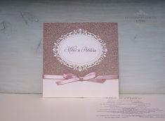 "INVITATII HANDMADE by Mariana: Invitatie ""Pink & Rose Gold"""