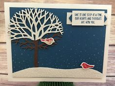 Stampin' Up!'s Thoughtful Branches stamp set and Beautiful Branches Thinlits. www.stampwithjennifer.blogspot.com