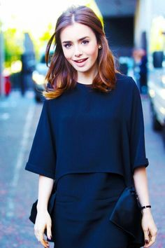 Beautiful hairs. Lily Collins