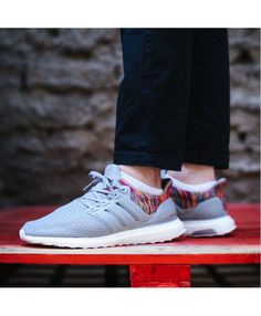 best website 02d48 7cb4a Adidas Ultra Boost Mens Grey Rainbow Sale Uk, Nike Shoes For Sale, Running  Shoes