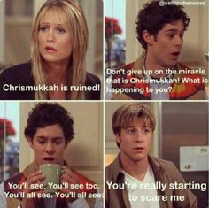 Chrismukkah!!! Love Seth Cohen for this:)