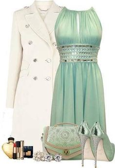 Classy sexy outfits, dress outfits, cute outfits, fashion outfits, womens f Fashion Moda, Look Fashion, Fashion Beauty, Womens Fashion, Fashion 2018, Fashion Shoes, King Fashion, Nail Fashion, Green Fashion