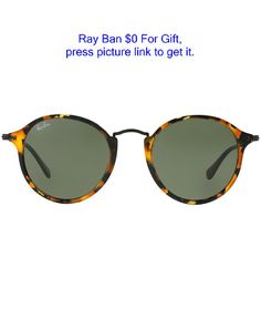 Circle back and make a fun fashion statement in this round style by Ray-Ban. The go-to look for those who love that nostalgic feeling. | Frame Style: PANTHOS | Eye/Bridge/Temple: 49/21/145 | Case or