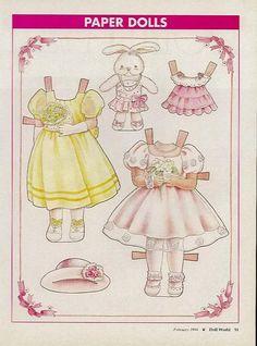 """Alina""  by Yuko Green -  Doll World  Magazine, Feb/1994: page 2 (of 2)"