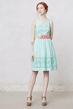 Bottlegreen Dress | Anthropologie.eu