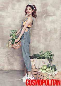 SNSD Seo Hyun - Cosmopolitan Magazine January Issue '16