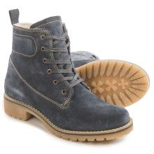 Eric Michael Fargo Suede Boots - Waterproof (For Women) in Grey - Closeouts