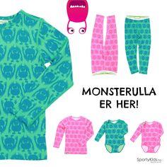Wiihii Monsterulla fra Vossatassar er her :D Kommer i flere farger - sjekk ut på SportyKids.no :)