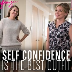 Self-confidence is the best outfit. From the creator of Sex and The City, 'Younger' stars Sutton Foster, Hilary Duff, Debi Mazar, Miriam Shor and Nico Tortorella. Discover full episodes at http://www.tvland.com/shows/younger.