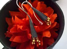 Long Silver Earrings Dangle Earrings Flower by CarducciArt on Etsy Long Silver Earrings, Jewelry Art, Unique Jewelry, Dangle Earrings, Dangles, Pendants, Flower, Handmade Gifts, Etsy
