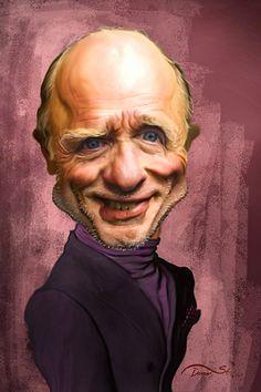 Celebrity Caricature / Ed Harris Cartoon Faces, Funny Faces, Cartoon Art, Glengarry Glen Ross, Funny Caricatures, Celebrity Caricatures, Caricature Drawing, Drawing Art, Celebrity Drawings