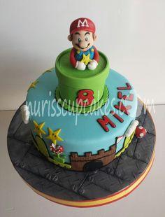 Tarta Mario Bros. .