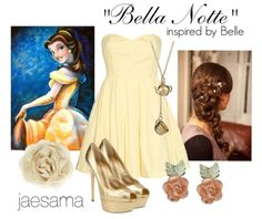 Princess Belle inspired outfit. Beauty and the Beast <3