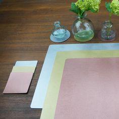 Tischset rechteckig kupfer
