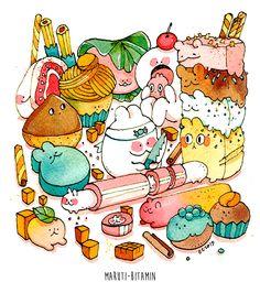 Confections ~ Koyamori scribblings