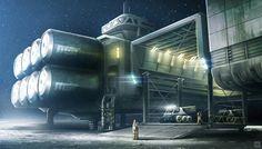 Lunar base observation duty