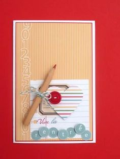 scrap rendez-vous: Flo.. encore une carte! Another card by Flo