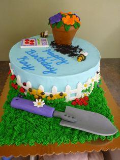 Garden Cake — Birthday Cakes