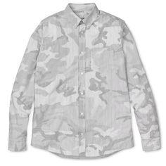 L/S Camo Pinstripe Shirt