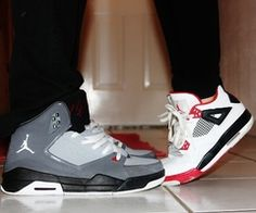 Want to take a pic like this with my man #sneakerhead #love #cutecouple