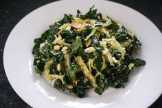 kale salad with honey-mustard peanut dressing