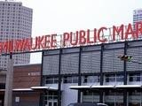 The Milwaukee Public Market:  wine, seafood, pastries, coffee... get it here.