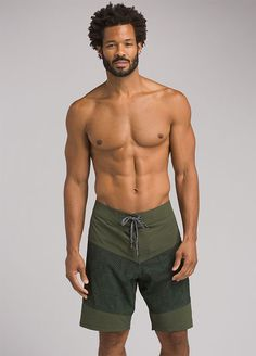 Experience the new Switchman Boardshorts by prAna. With quick dry and moisture wicking performance features, these broad shorts are made for the waves. Lean Body Men, Gym Body, Action Poses, Male Poses, Shirtless Men, Hot Guys, Hot Men, Future Boyfriend, Welt Pocket
