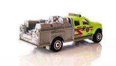 FORD F-550 SUPER DUTY FIRE TRUCK (Matchbox - Mattel)