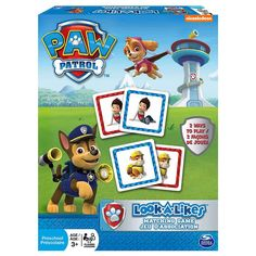 Paw Patrol Look a Likes Matching Board Game-https://goo.gl/RsZ9ZI  #ILoveMom #Mothersday #awesomesauce