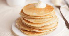 Pancakes Végétaliens, Dairy Free Pancakes, Vegan Pancakes, Protein Pancakes, Banana Pancakes, Dog Recipes, Cooking Recipes, Pancake Dessert, Diets