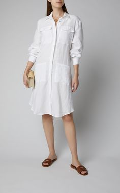 The Vacation Store Anniversary Outfit, Linen Shirt Dress, Latest Fashion Design, Shirt Blouses, Shirts, Beach Dresses, Ladies Dress Design, What To Wear, Women Wear