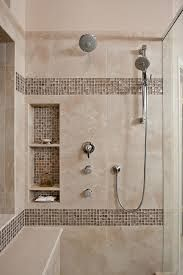 Merveilleux Awesome Shower Tile Ideas Make Perfect Bathroom Designs Always : Beautiful Shower  Tile Ideas Glass Cover Shower Metalic Shower By Facunda