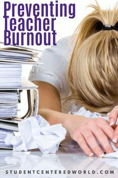 Teachers take care of everyone else; they also need to take care of themselves.  Lack of self-care leads to teacher burnout.  Click to learn more and be sure to subscribe to studentcenteredworld.com