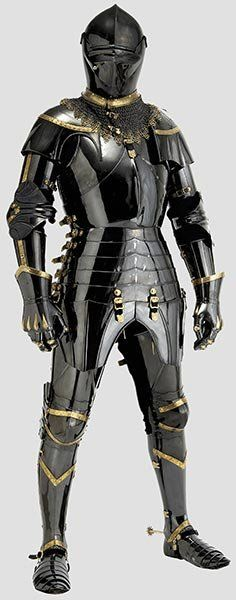 2155: A Unique Armour In The English Style, Circa 1440 : Lot 2155