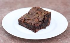 Chocolate Chip Zucchini Brownies Recipe on twopeasandtheirpod.com Love these rich and fudgy brownies! #brownies #zucchini