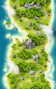 Map by niboart on DeviantArt