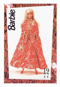 "Barbie Collectible Fashion Trading Card  /"" Feeling Fun Barbie /""  Jacket 1989"