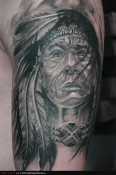 Indian Chief Skull Tattoo Meaning | indian women tattoo artists org free download red tattoo lilz tattoos ...