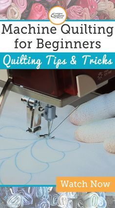 Peg Spradlin provides extremely helpful tips on machine quilting for beginners. … Peg Spradlin provides extremely helpful tips on machine quilting for beginners. Quilting For Beginners, Sewing Projects For Beginners, Quilting Tips, Beginner Quilting, Longarm Quilting, Sewing Machine For Quilting, Sewing Machine Projects, Sewing Machine Embroidery, Quilting Stencils