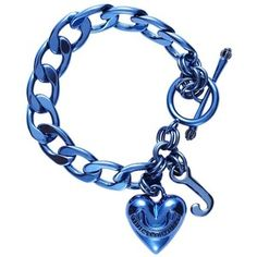 Blue Juicy Couture charm bracelet